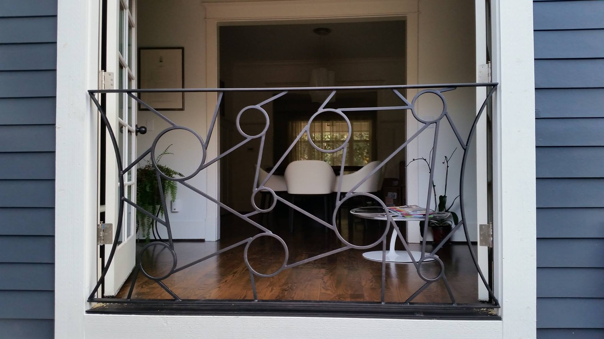 Custom Abstract Steel Art Ace Iron Works