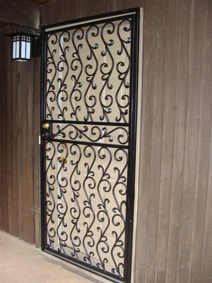 Custom Iron Work Doors In Seattle Wa Redmond Wa And