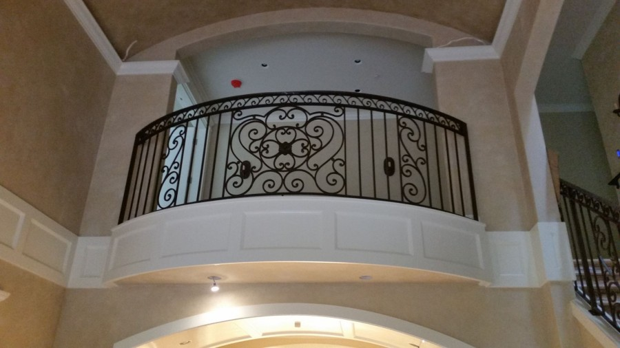 Railings: Interior Banister | Ace Iron Works