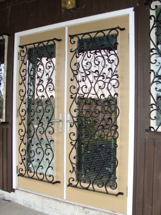 Iron Security Window Bars, Grates & Grills - Los Angeles County CA ...